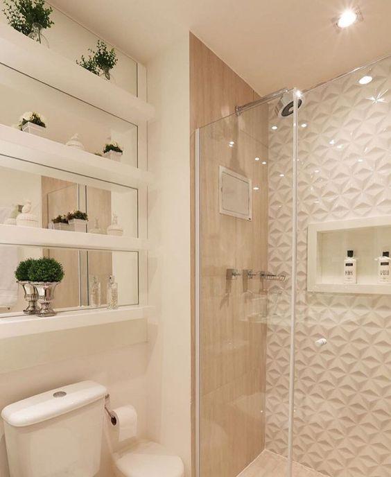 Ideias para construir ou reformar seu banheiro  Jeito de Casa  Blog de D -> Banheiro Pequeno Decorado Rosa