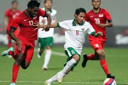 Prediksi Singapura vs Indonesia Live RCTI