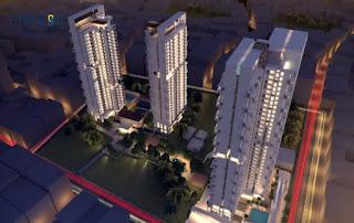 panel GRC bangunan Apartemen Synthesis Residence Kemang