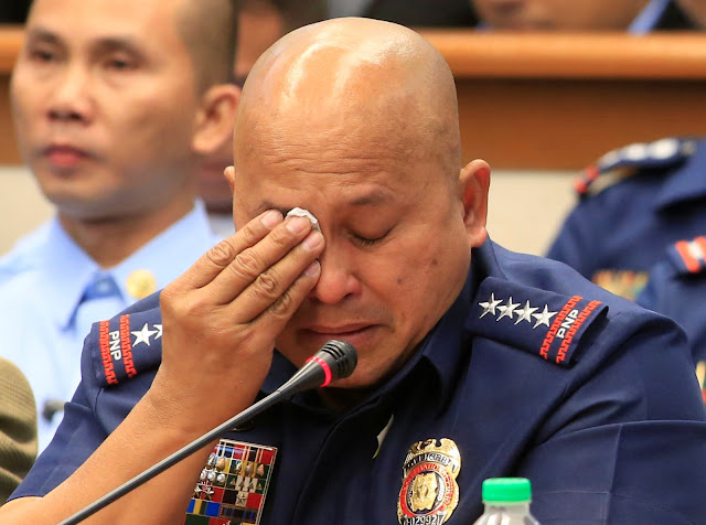 Ketahuan Anak Buahnya Terlibat Narkoba, Kepala Polisi Filipina Ini Nangis