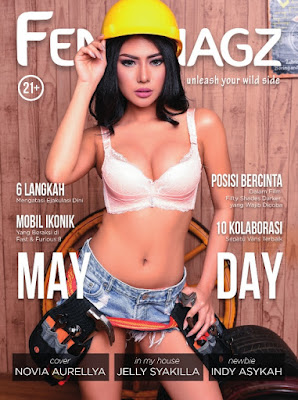Download Majalah FENOMAGZ Edisi Mei 2017 PDF Novia Aurellya dan Jelly Syakilla | www.insight-zone.com