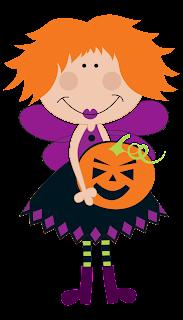 Clipart de Niños Disfrazados para Halloween.