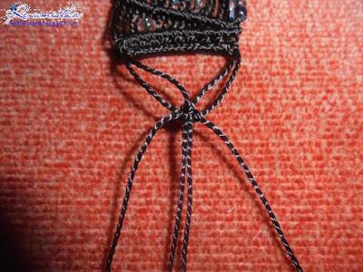 использование простых узлов в плетении