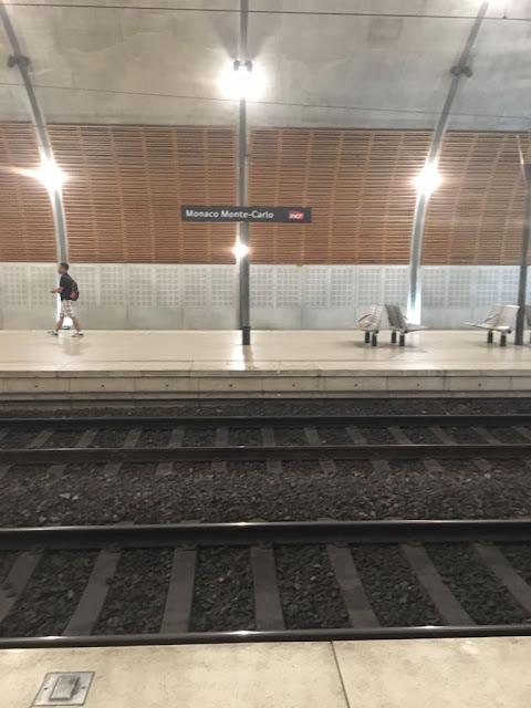 Monaco Monte Carlo station