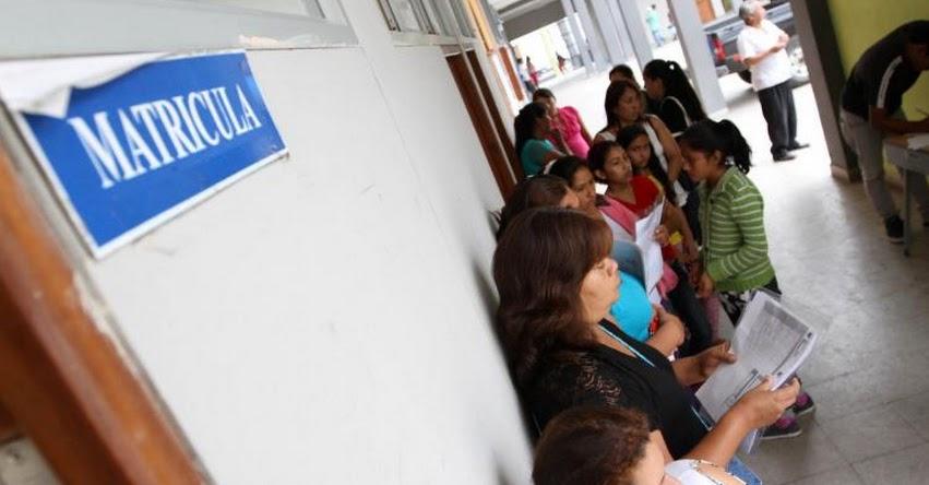 MINEDU: Colegios deberán publicar número de vacantes por lo menos 60 días calendarios previos al inicio del año escolar - CRONOGRAMA 2020 (R. VM. N° 220-2019-MINEDU) www.minedu.gob.pe