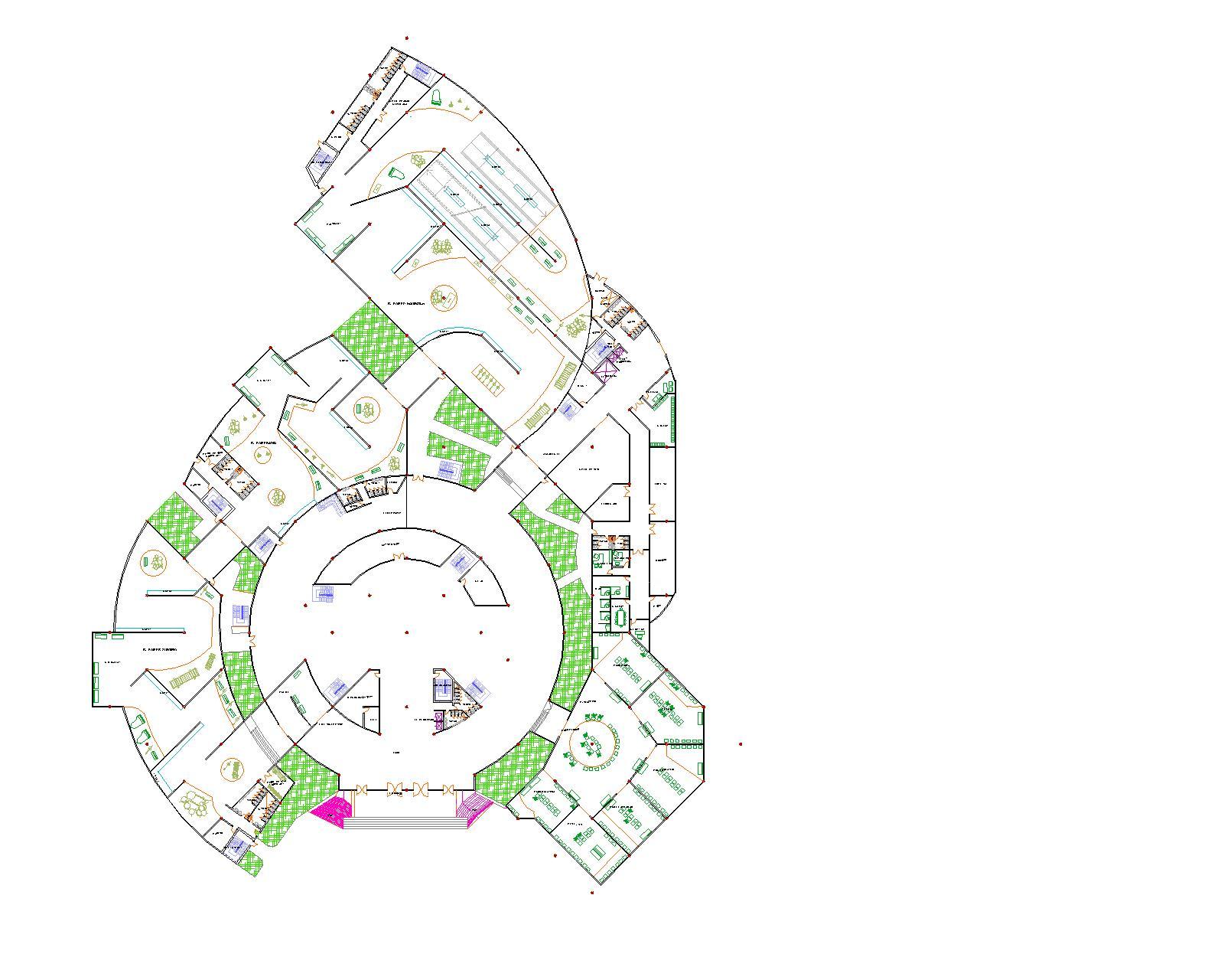 Bossa Design: Floor Plan Of Museum Musik Indonesia