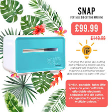 TO ALL CRAFTERS: Get the amazing SNAP for only £99.99 with FREE P&P!