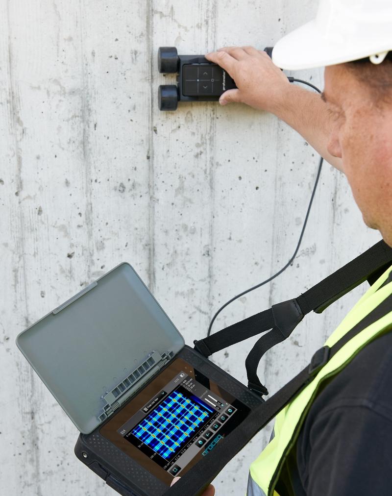 Jual Profometer PM-650 AI (Proceq Rebar Locator And Cover Meter Call 08128222998)