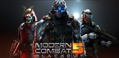 Modern Combat 5 eSports FPS MOD APK Terbaru v3.0.1a (God Mode)