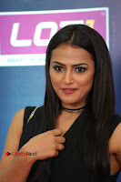 Actress Shraddha Srinath Stills in Black Short Dress at SIIMA Short Film Awards 2017 .COM 0075.JPG