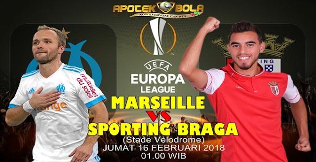 Prediksi Marseille vs Sporting Braga 16 Februari 2018