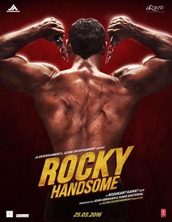 Poster Of Rocky Handsome 2016 Hindi 720p DVDScr x264 AAC Free Download Watch Online
