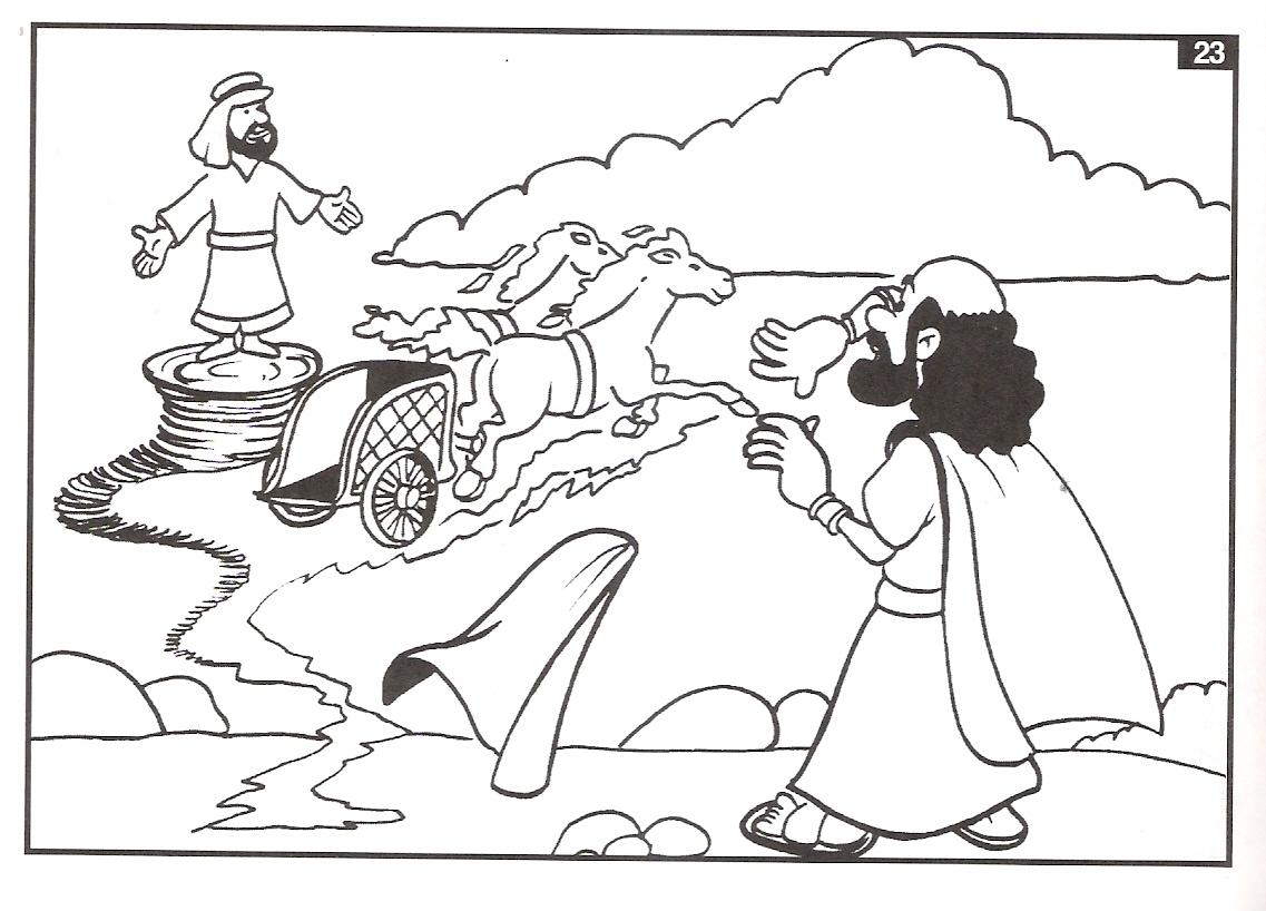 ME ABURRE LA RELIGIÓN: ELÍAS ES LLEVADO AL CIELO