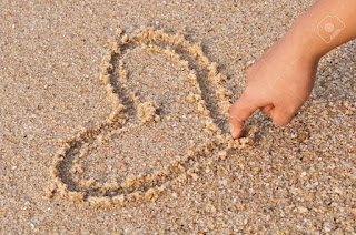 Improve Hand strength and control by drawing in the sand at the Beach