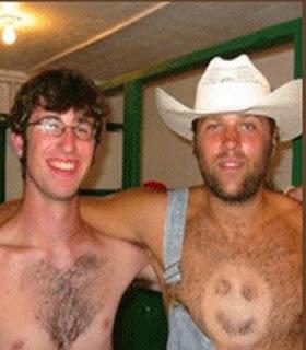 Las peores depilaciones masculinas - Absolutamente sexy  Las peores depilaciones masculinas - Amigos son los amigos