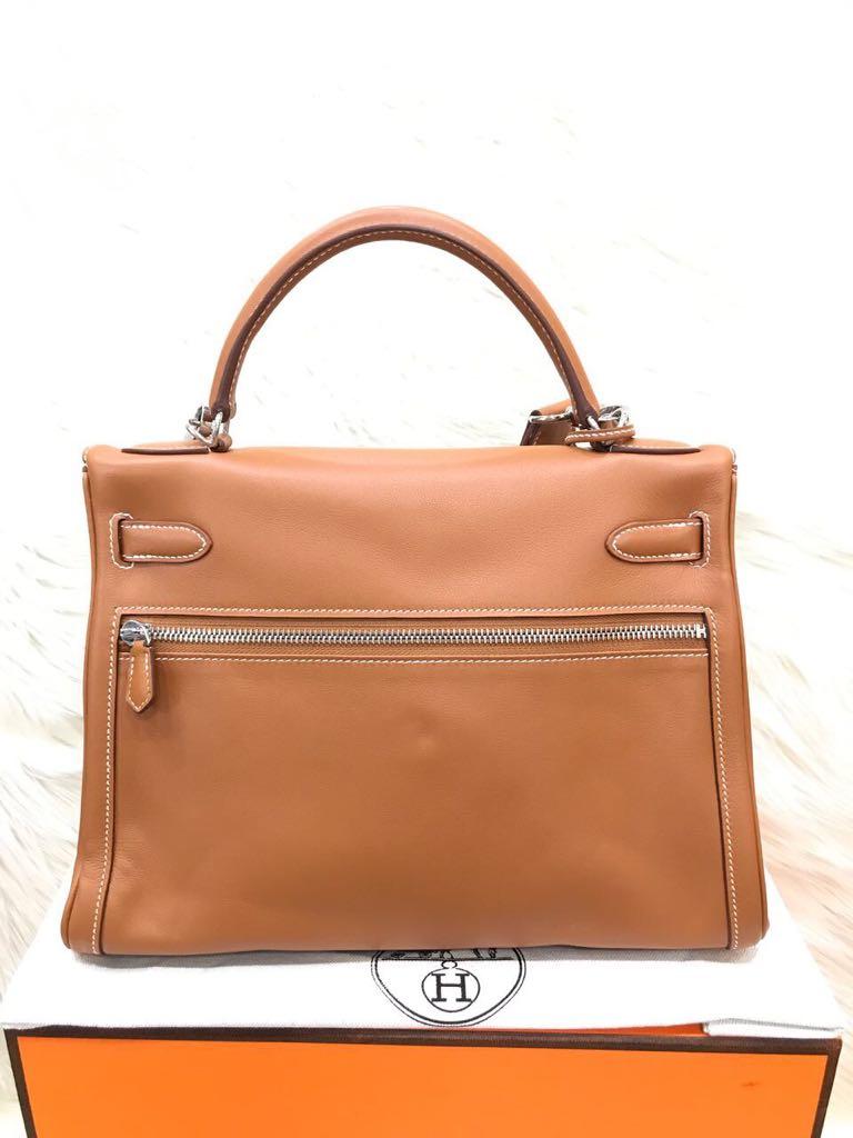 Hermes Kelly 32Cm Lakhis Swift Half Handmade Handstitches Mirror Original  Leather Bag..Part 5 55d7ccb019