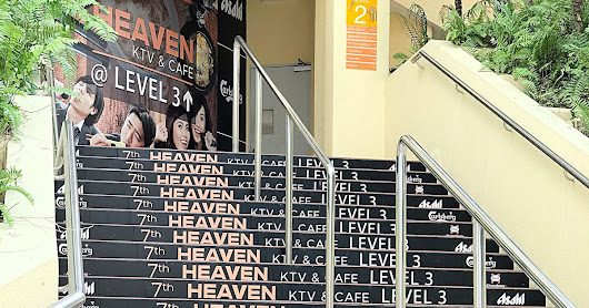 Stairway to Sing and Dine Heaven