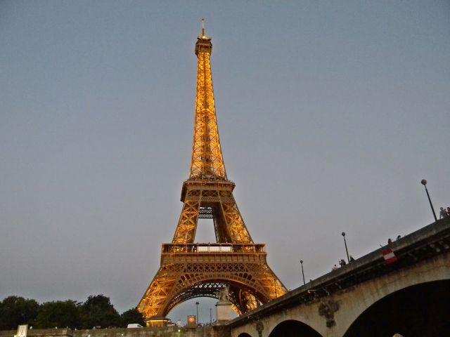 Sekwana, atrakcje Paryża, wieża Eiffla