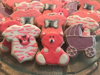 Onesie Sugar Cookies