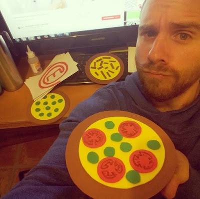 pizzas de goma eva