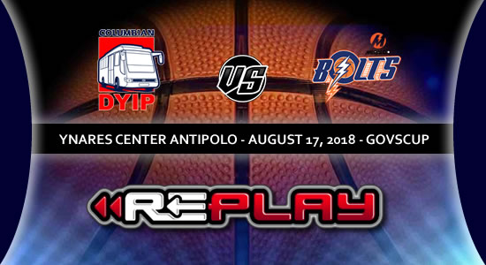 Video Playlist: Columbian Dyip vs Meralco Bolts game replay 2018 PBA Governors' Cup