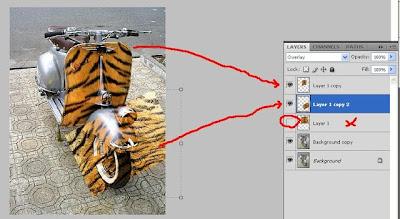 Mengecat KROM (CHROME) Body Motor