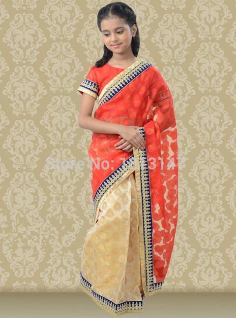 jual baju sari india anak murah