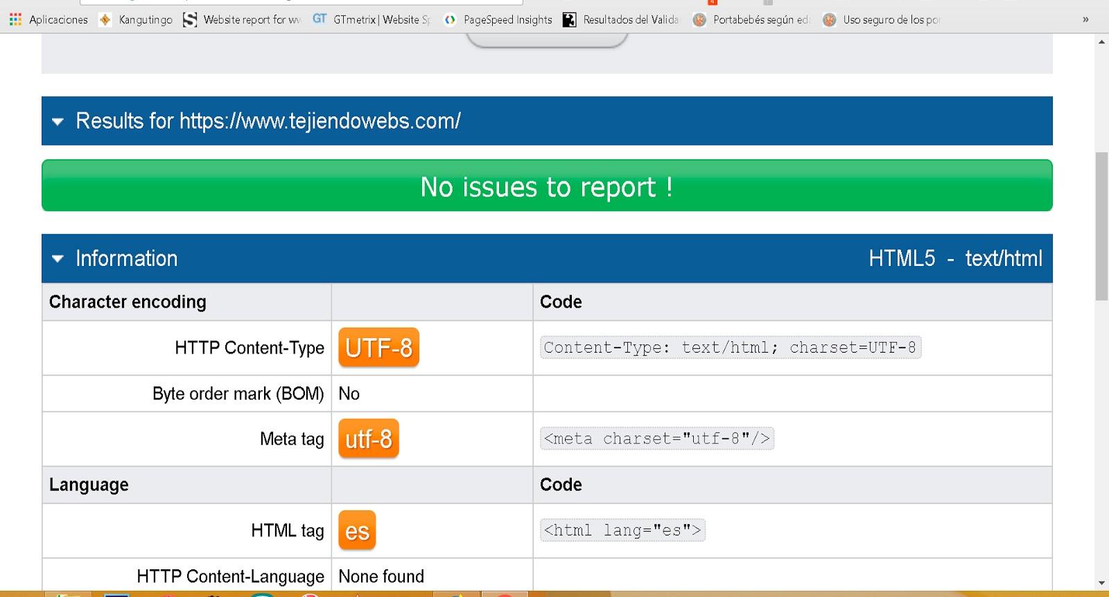 plantillas validadas con W3C