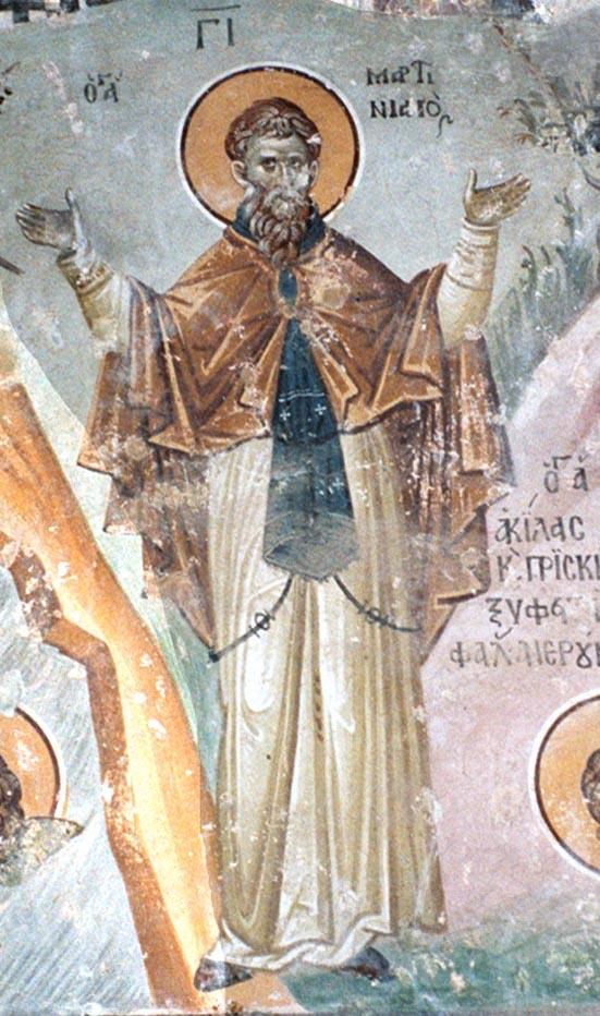 sveti Martinijan - puščavnik
