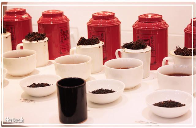 bar à thé Compagnie française d'Orient et de Chine