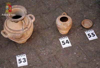 Italian police stumble upon hoard of ancient artefacts