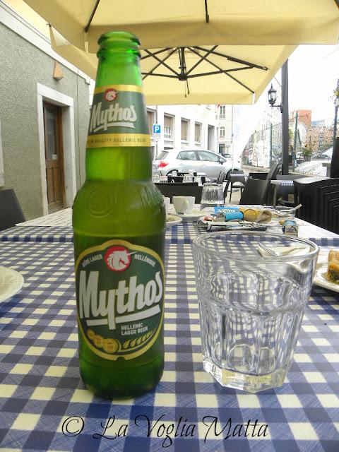 Birra greca Mithos