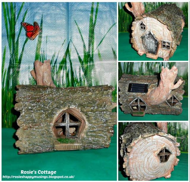 Adorable Solar Powered Fairy Home