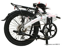 20 Inch FoldX World Cup England The Three Lions Folding Bike