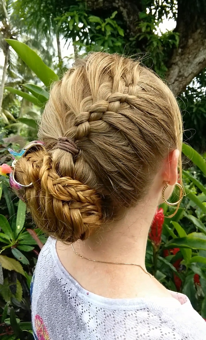 Braids Amp Hairstyles For Super Long Hair 5 Strand French Braid