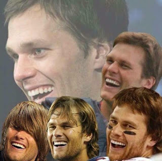 Tom brady Laughing,