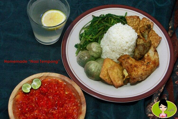 Nasi Tempong Sego Tempong Bali Food Blogger Resep Dan Review By Sashy Little Kitchen