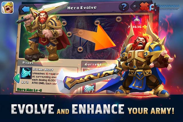 Download Clash of Lords 2: Guild Brawl MOD APK Updated