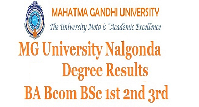 Mahatma Gandhi University Degree Results