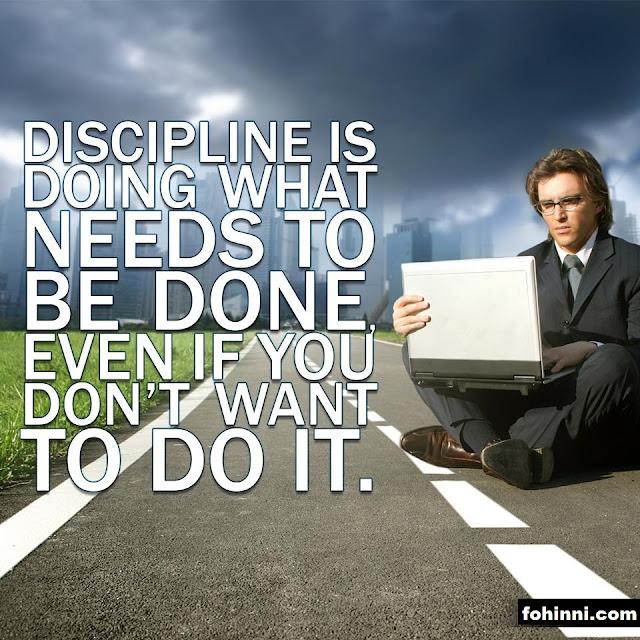 Discipline Life Quotes