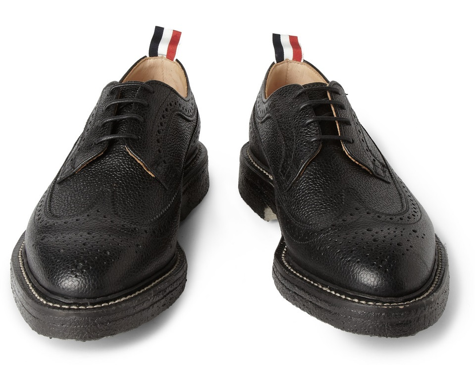 485d0cb1ccd7 The Modern Man Blog  Shoe of the Week  Thom Browne Crepe-Sole ...