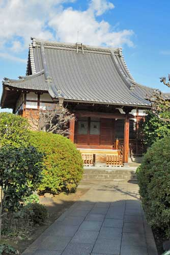 Kyooji Temple, Yanaka, Tokyo.