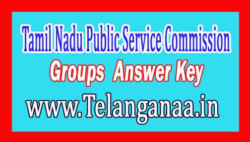 Tamil Nadu Public Service Commission (TNPSC)Group 4 Answer Key 2016