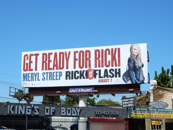 Ricki and the Flash Get ready for Ricki billboard