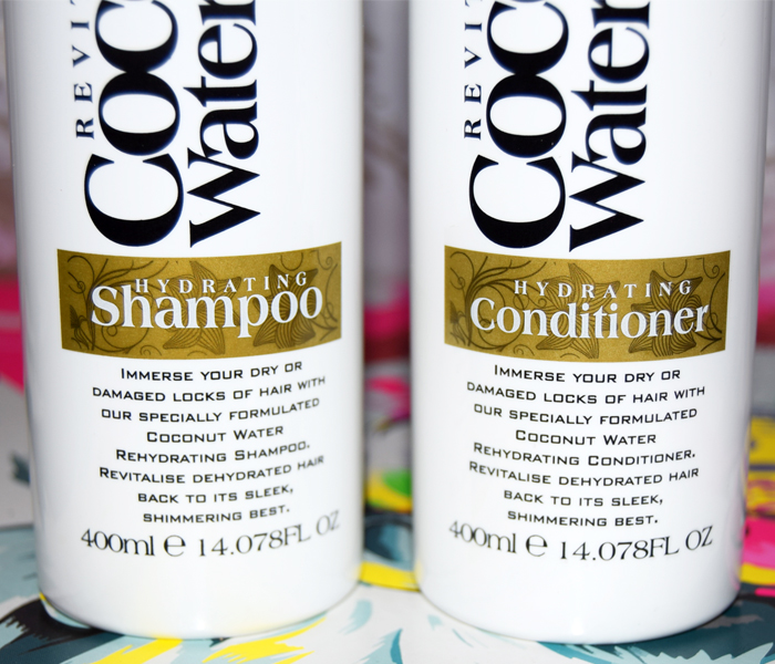 XHC Coconut Water Hydrating shampoo and conditioner