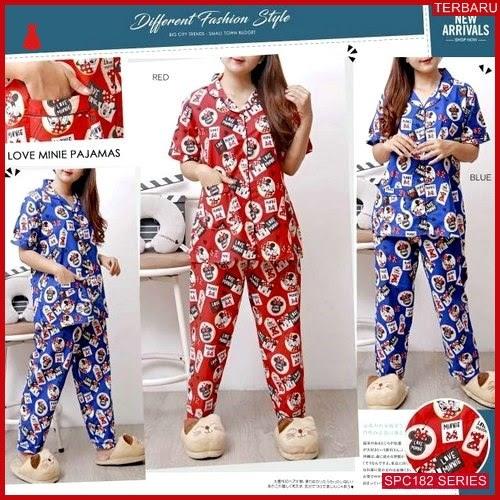 SPC182P93 Piyama Minnie Bhn Cp Baju Tidur Wanita | BMGShop