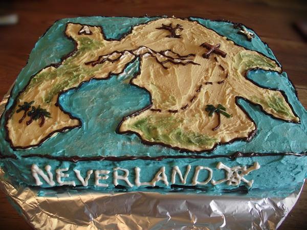 Make Treasure Map Cake