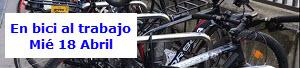 'Buenas prácticas: En bici al trabajo' Apúntate a este taller. Miércoles 18 de abril