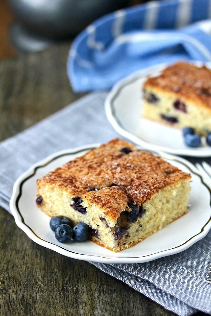 Blueberry Boy Bait Cake