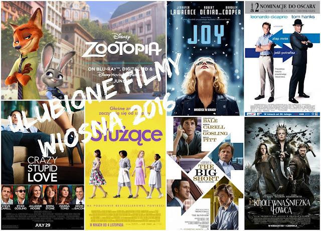 Filmy, które polecam zobaczyć WIOSNA 2016